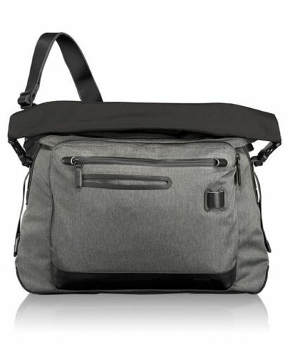 Tumi Tahoe Marino Roll-top Messenger Bag Travel Luggage Black Gray ...