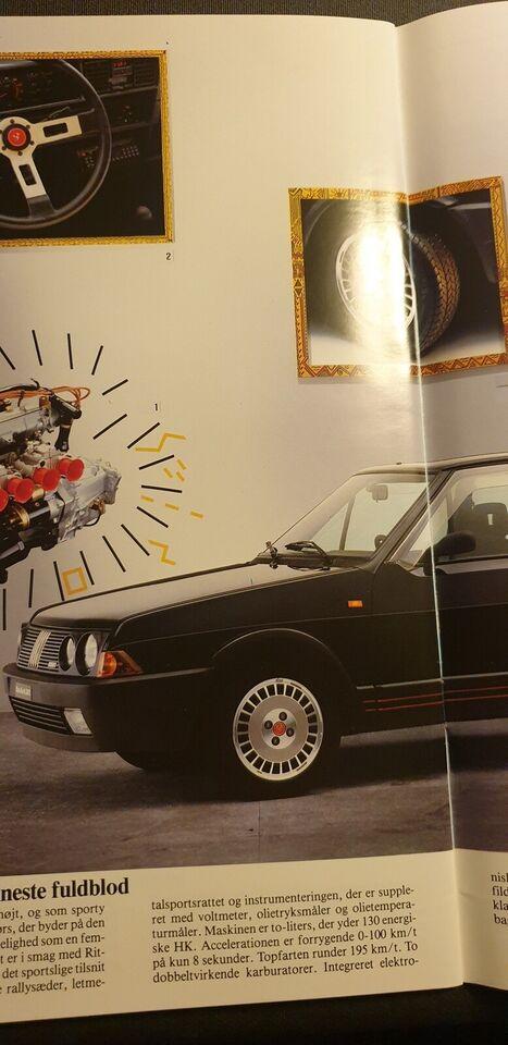 Brochure, Fiat Ritmo