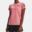 thumbnail 1 - Under Armour Women's UA Heatgear Freedom Flag T-Shirt. Pink Clay/League Red