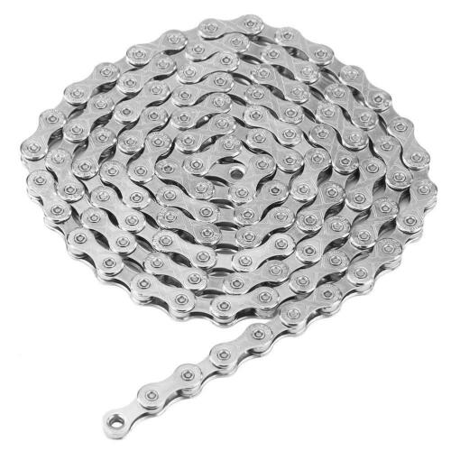 Steel 10 Speed 116 Links MTB Bicycle Chain Durable Outdoor Riding Accessory #S5