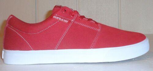 pour de skate M Stul Supra Chaussures 13 Vulc Ll Us hommesCouleur blancTaille Rouge de bf6vygY7