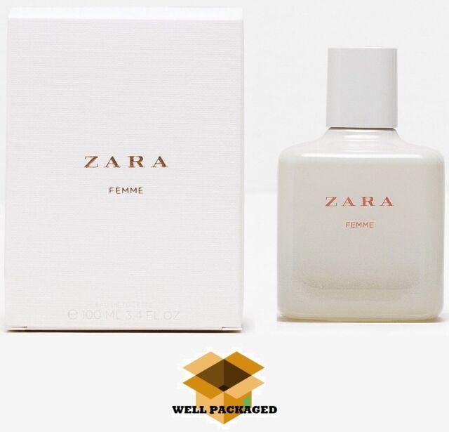 100ml Zara Woman Femme Eau De Toilette Fragrance For Woman