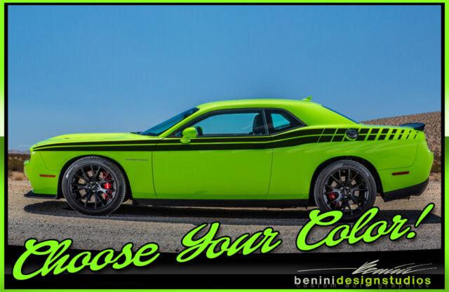 Side Racing Stripes FITS 2008 2014 2015 2020 Dodge ...