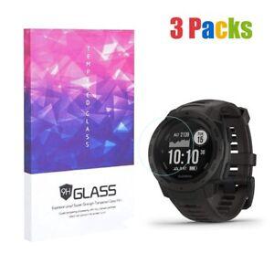 For-Garmin-Instinct-Tempered-Glass-Screen-Protector-9H-Hardness-3-Packs