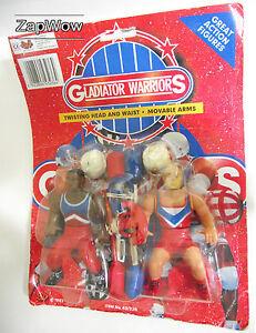 GLADIATOR-WARRIORS-1990s-BOOTLEG-WRESTLING-Action-Figure-Set-Vintage-Knock-Off