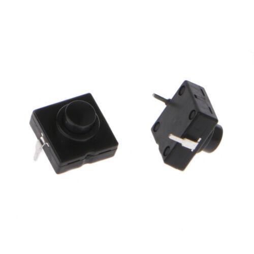 10 x1A 30V 2Pin CB-1212-112D Ultra-Thin Medium Feet  Flashlight Switch Button