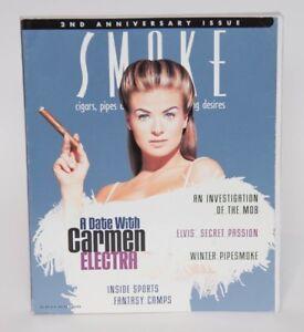 SMOKE-Cigar-Magazine-WINTER-1997-CARMEN-ELECTRA-Cover