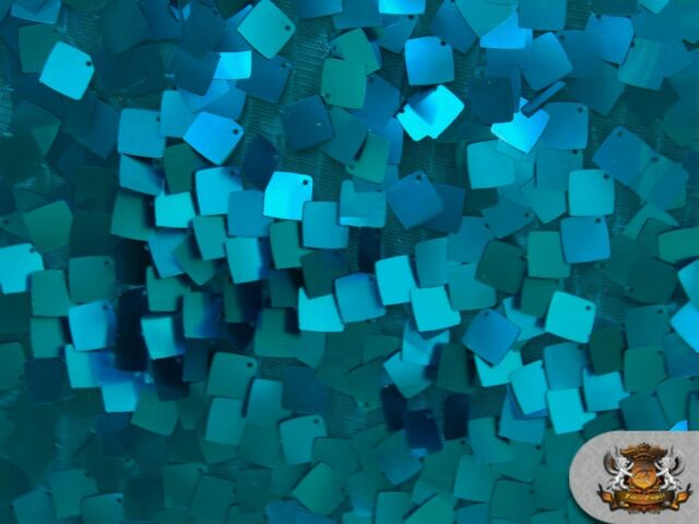 "SQUARE DANGLE TULLE Sequin Fabric / 55"" Wide / Sold by the yard"