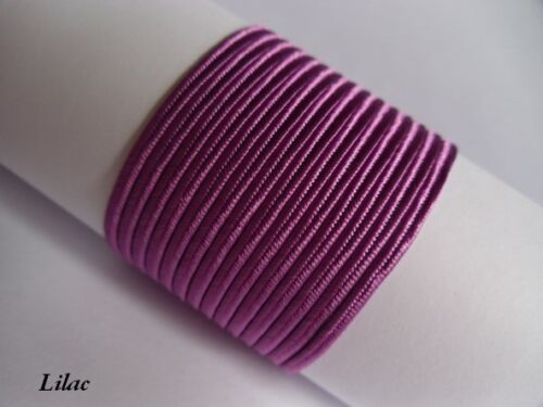 Soutache Russia Braid Cord Trim 100/% viscose 3mm 60 COLOURS 10 metres