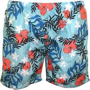 Gant Estate Floreale Boys Swim Shorts Topaz Blu Ebay
