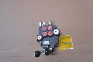 Hydraulisches Steuerventil Hydraulikventil 45 Liter 2-fach