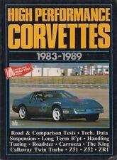 CHEVROLET CORVETTE C4 ( INCL Z51 , Z52 & ZR1 ) 1983-1989 PERIOD ROAD TESTS BOOK