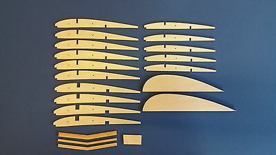 Mercury /'Matador/' Laser Cut Rib Sets