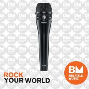 Shure-KSM-8-Mic-Dualdyne-Cardioid-Dynamic-Microphone-Black-KSM8-Brand-New