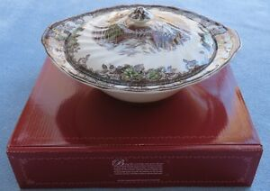 Johnson-Brothers-Friendly-Village-Covered-Vegetable-Bowl-New-in-Box