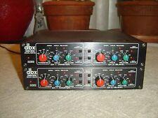 DBX 363X, Pair, Dual Noise Gate, 4 Channels, 120/240V, Vintage Units