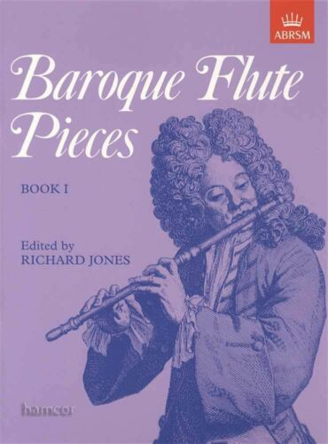 Baroque Flute Pieces Book 1 ABRSM Sheet Music Book Grades 1-4