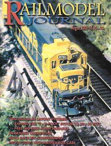 Railmodel-Journal-Aug-2003-Passenger-Operations-CP-Ontario-Newsprint-Box-Car-F7A