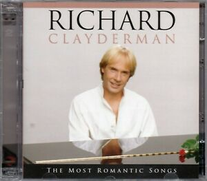 Richard-Clayderman-CD-The-Most-Romantic-Songs-Brand-New-Sealed