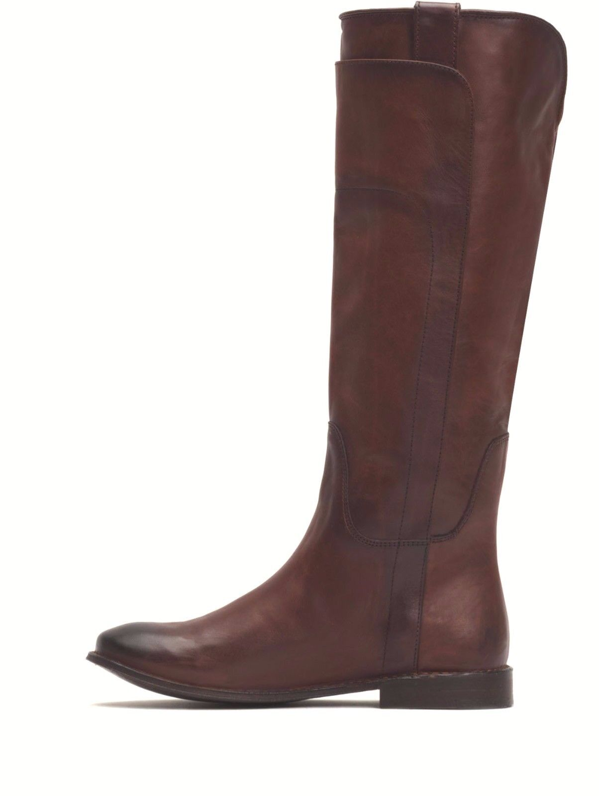 LADIES FRYE bottes PAIGE TALL IN rougeWOOD 76530