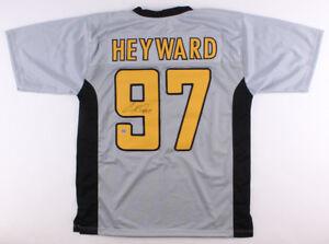 1b2f0289e3b Image is loading Cameron-Heyward-Signed-Steelers-Throwback-Jersey-Heyward -Player-