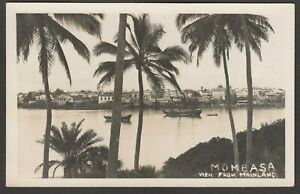 Postcard-Mombasa-Kenya-a-View-From-Mainland-dated-1944-RP