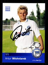 Artur Wichniarek Autogrammkarte Hertha BSC Berlin 2003-04 Original + A 130573