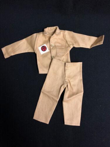 GI JOE-Action Man-NERO ADVENTURER-Shirt /& Pantaloni-Riproduzioni
