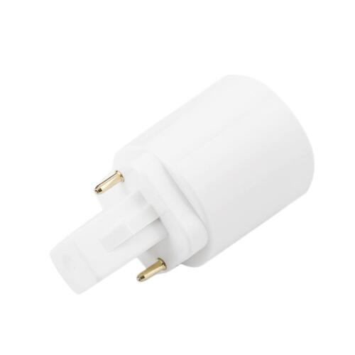 1Pcs G24 To E27 Adapter Converter Lamp Holder Base Socket Fit LED Light Bulbs BG