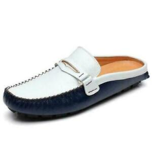 Mens Silpper Loafers Breathable Casual Shoes Driving Slip On Close Toe US 8.5