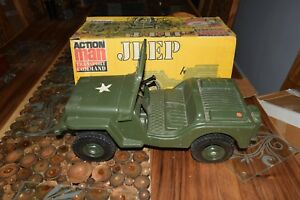 Action-Man-G-I-JOE-HASBRO-JEEP-1975-vintage-boxed-excellent
