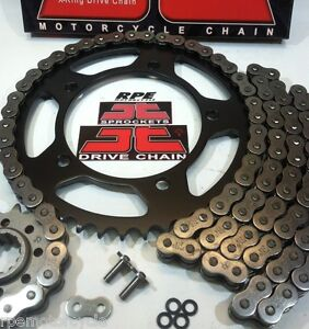 Max Motosports Gold O-Ring Chain and Sprocket Kit for Suzuki GSXR 750 GSX-R750 2006 2007 2008 2009 2010