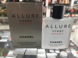 56f65fb755e7 Chanel Allure Homme Sport After Shave Lotion 100 ml 3145891230604 | eBay