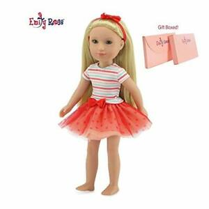 Emily-Rose-14-Inch-Doll-Clothes-for-Wellie-Wishers-Lovely-3-Piece-14-034-Doll