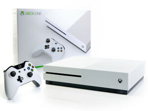 Microsoft-XBOX-ONE-S-Konsole-1TB-Weiss-Controller-1000GB-Spielkonsole