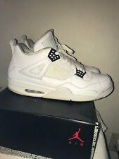 f80656353b7 item 8 Nike Air Jordan 4 IV Retro Pure Money All White Silver 308497-100  Size 13 -Nike Air Jordan 4 IV Retro Pure Money All White Silver 308497-100  Size 13