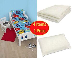 disney cars 39 champ 39 junior toddler cot bed duvet quilt cover boys bed