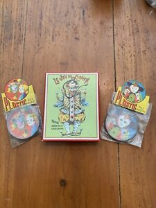 Vintage-Dexterity-Puzzle-Lot-of-Three-Hong-Kong-Germany-NOS