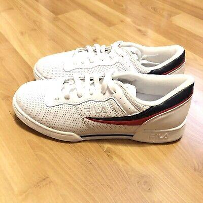 Fila hombre original Fitness Perf Blanco Fila Azul Marino Rojo tenis zapatos talla 12 | eBay