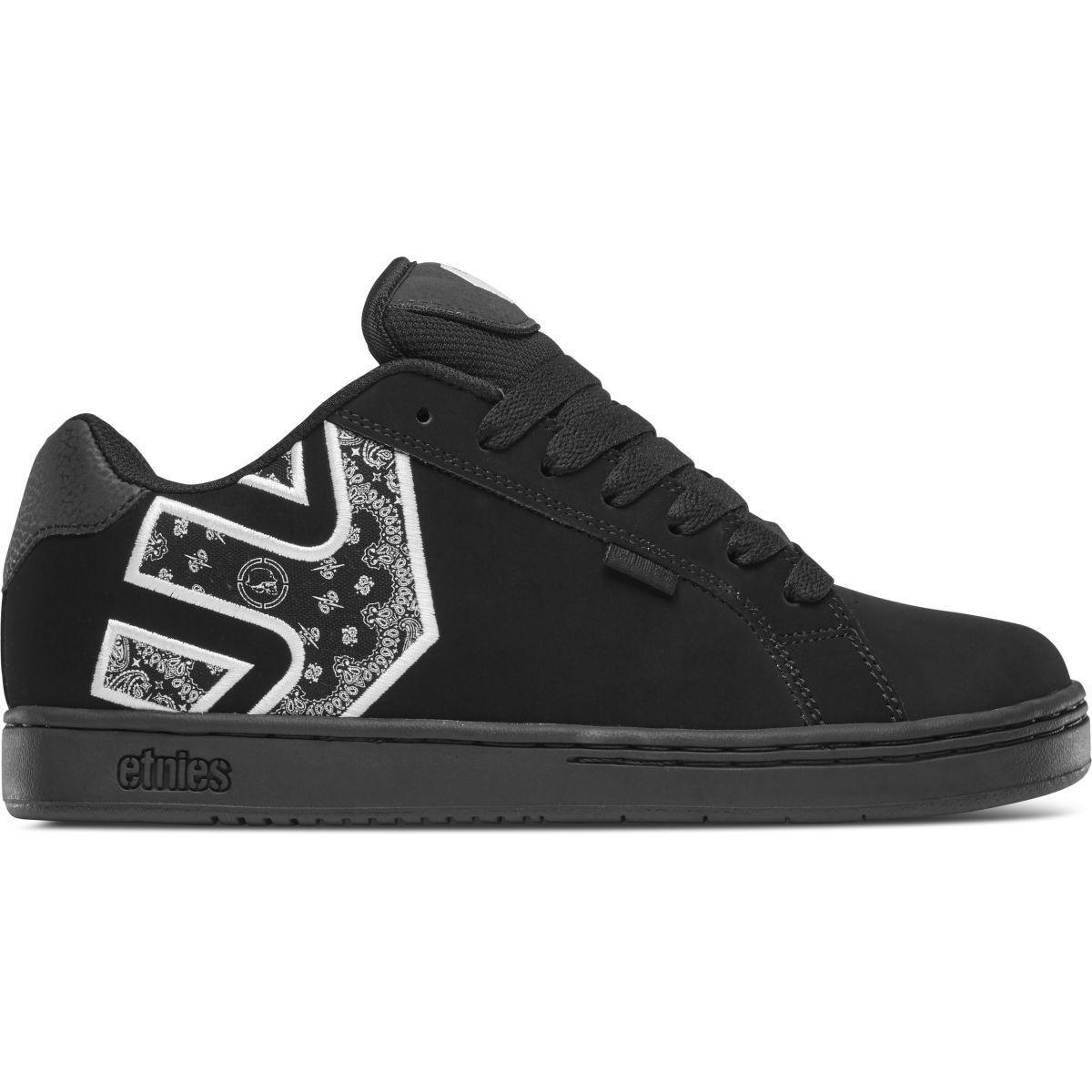ETNIES Nuevo Hombre Metal Mulisha Fader Zapatos Negro blancoo Bnwt
