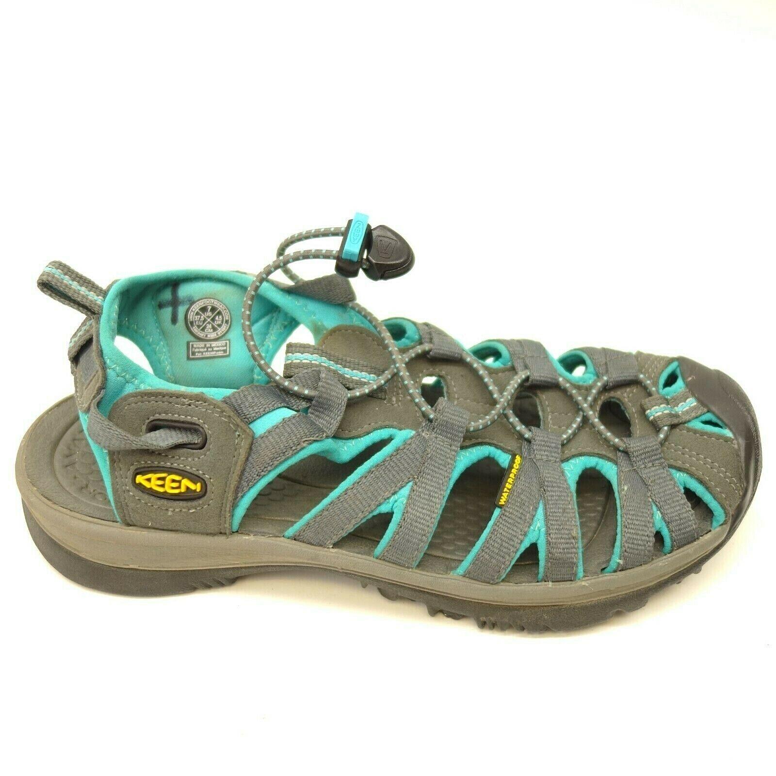 Keen Original Sport Flüsster Sandalen Us 7 Eu 37,5 Gurt Gepolstert Damen Schuhe