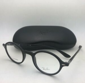eac7cebecc0 New RAY-BAN Eyeglasses LITEFORCE RB 7069 5204 46-22 145 Matte Black ...