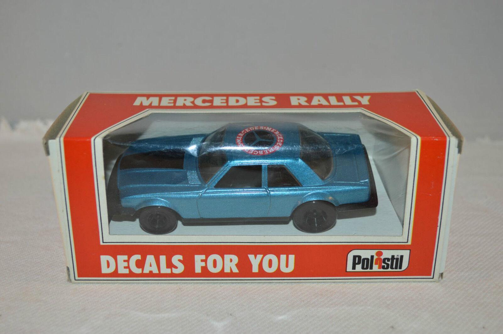 Polistil E2008 Mercedes Benz 280 Rally mint in box