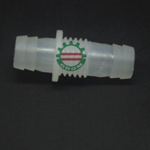 LOT10 12mm-M16-12mm cloison Réduire en plastique Raccord Barbelé Fish Tank PP Alimentaire