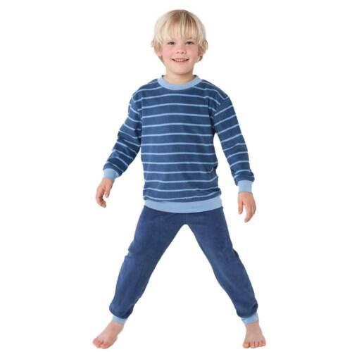 Living Crafts Enfants éponge-pyjama deuxième pressé coton biologique