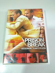 Prison Break Segunda Temporada 2 Completa - 6 x DVD Español Ingles