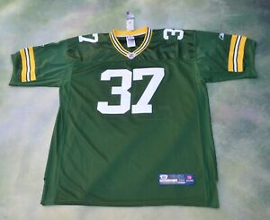 Details about RARE Vintage Reebok NFL Green Bay Packers Sam Shields #37 Jersey Size 56.