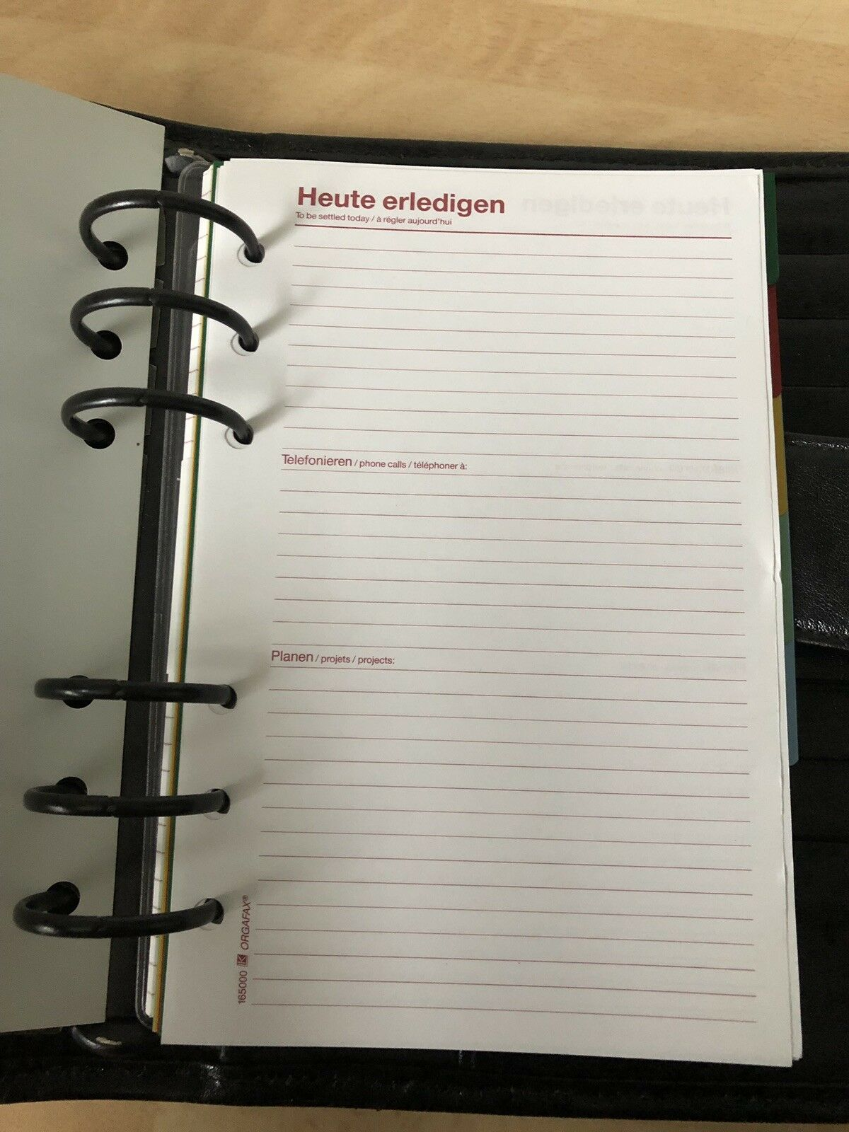 Kalender Organizer Timer für Größe Größe Größe  Personal  m. vielen Fächern + div. Einlagen | Preisreduktion  | Vorzugspreis  | Eine Große Vielfalt An Modelle 2019 Neue  da6d0a