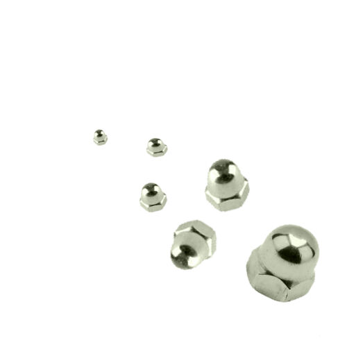 M4 M5 M6 M8 M10 M12 A2 Stainless Steel Hex Head Dome Nuts