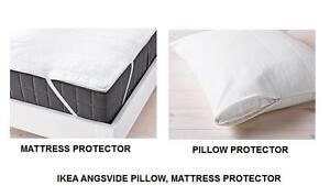 Cuscino Materasso Ikea.Dettagli Su Ikea Angsvide Cuscino Materasso Protezione Copertura Disponibile In